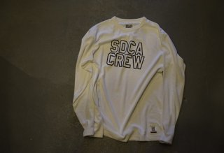 standard california / SD Tech Dry Logo Long Sleeve T(WHITE)