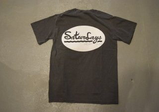 QUERELGA / 9th ANIV Sturdays PICNIC CLUB short sleeve T(pepper black)