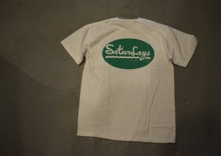 QUERELGA / 9th ANIV Sturdays PICNIC CLUB short sleeve T(white)