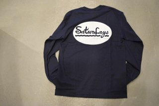 QUERELGA / 9th ANIV Sturdays PICNIC CLUB long sleeve T(NAVY)