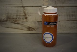 nalgene / 広口0.5L Tritan(オレンジ/ホワイト)