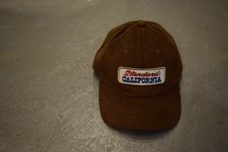 standard california / SD Logo Patch Corduroy Cap(beige)