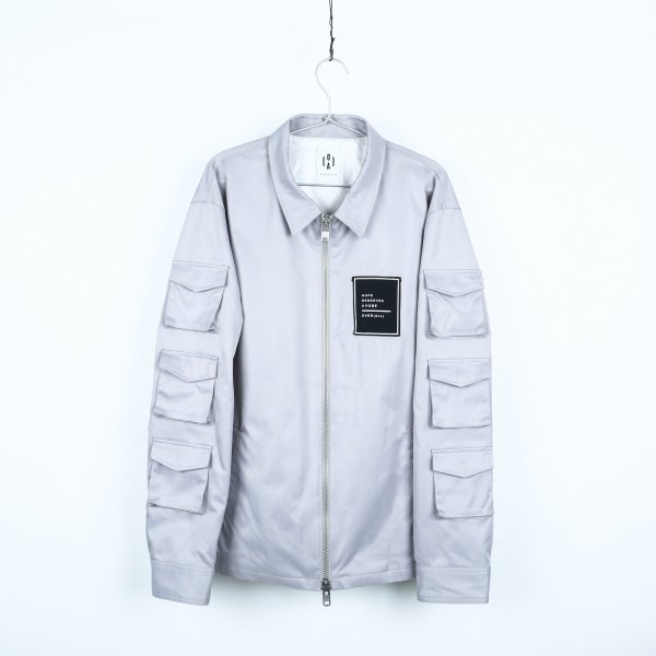 """HOPE"" jacket GRAY"
