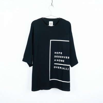 """HOPE"" T-shirt BLACK"