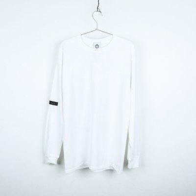 """BEAUTIFUL SCARS"" long sleeve WHITE"