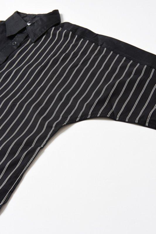 "【 30%OFF 】""PERFECT DARK II"" Long Shirt Black x Black"