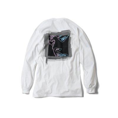 "【 50%OFF 】""DREAMING AWAKE"" long sleeve WHITE"