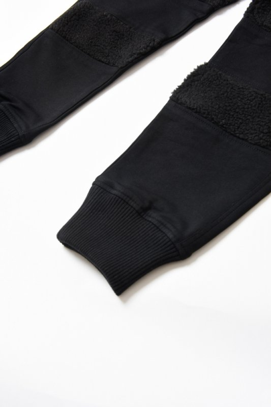 "【 30%OFF 】""THE BLACK SHEEP"" Track Pants Black x Black"
