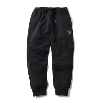 """THE BLACK SHEEP"" Track Pants Black x Black"