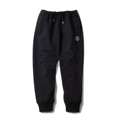 """PERFECT DARK"" Track Pants Black"