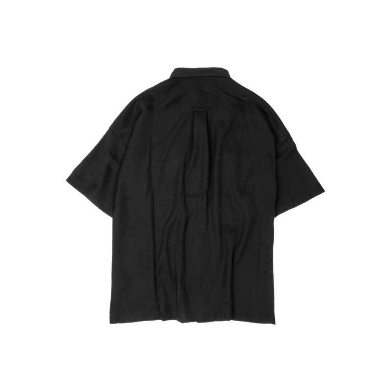 "【 20%OFF 】""WEIGHTLESS"" S/S SHIRT BLACK"