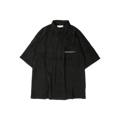 "【 40%OFF 】""WEIGHTLESS"" S/S SHIRT BLACK"