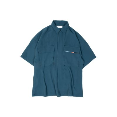 """WEIGHTLESS"" S/S SHIRT BLUE"