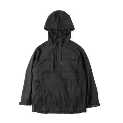 【 40%OFF 】TTCL WOOL ANORAK BLACK