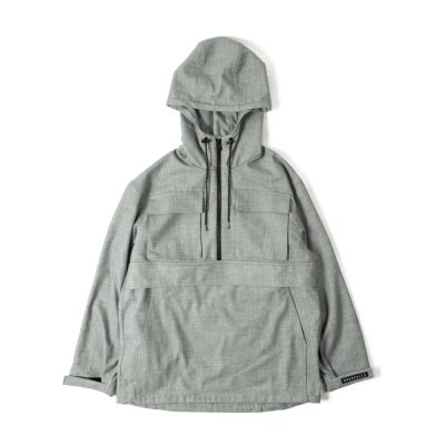 【 40%OFF 】TTCL WOOL ANORAK GRAY