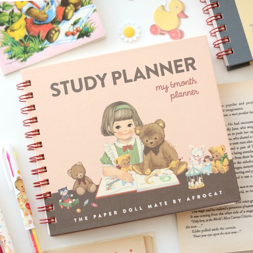 paper doll mate study planner maomayu