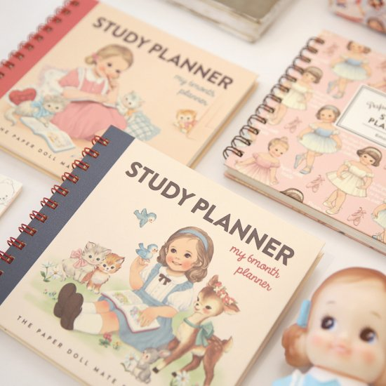 paper doll mate study planner 2 maomayu