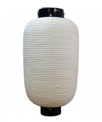 長型提灯(和紙)二長(φ34×67cm)