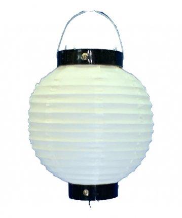 丸形提灯(ビニール)六寸丸(φ18×18cm)