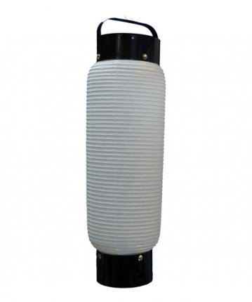 弓張型提灯(和紙)八東(φ15×52cm)