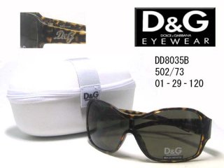 D&G DOLCE&GABBANA(ドルチェアンドガッバーナ) サングラス DD8035B-502