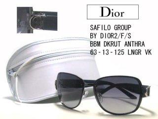 Christian Dior(クリスチャン・ディオール) サングラス BY-DIOR2 F S-BB