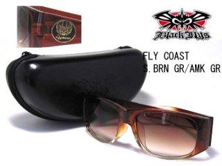 BLACK FLYS(ブラックフライ) サングラス FLY COAST S.BRN GR AMK G