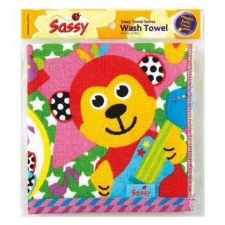 Sassy(サッシー) プリント・ウォッシュタオル 袋入り ミュージックフレンズ NZSA95004