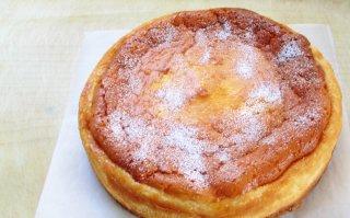 ベイクドクリームチーズケーキ 大サイズ 直径18cm