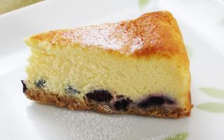 【今だけお試し価格】ブルーベリーチーズケーキ 小サイズ 直径13cm