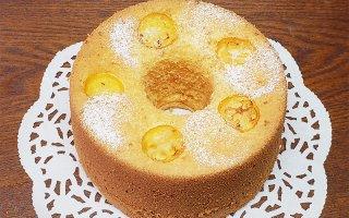 【1月限定】金柑のシフォンケーキ 大サイズ 直径20cm
