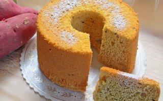 【1月限定】うなぎいもシフォンケーキ 小サイズ 直径14cm