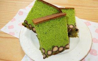 【1月限定】抹茶黒豆カステラ 大サイズ18cm