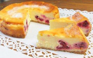 【7月限定】ラズベリーのチーズケーキ 大サイズ 直径18cm