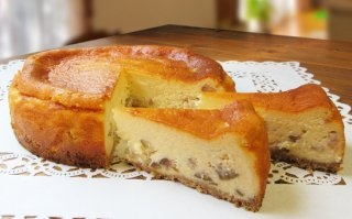 いちじくのチーズケーキ 大サイズ 直径18cm