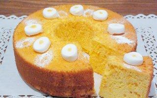 【5月限定】レモンのシフォンケーキ 小サイズ 直径14cm