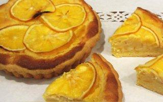 【季節限定】レモンの焼タルト 小ホール(15cm×浅3cm)