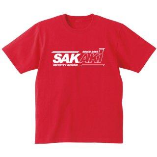 SAKAKIロゴTシャツ