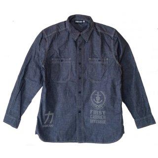 加賀シャンブレーシャツ