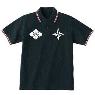日本軍 グラフィティ ポロシャツ