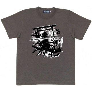 日本軍グラフィティTシャツ