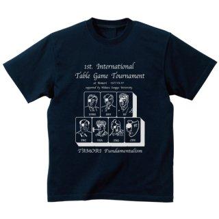 四カ国親善麻雀Tシャツ