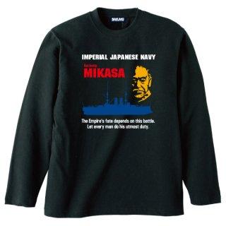三笠 長袖Tシャツ