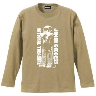 縄文の女神 長袖Tシャツ