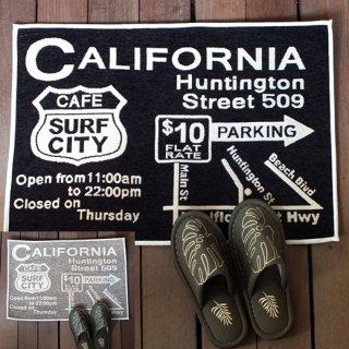 ハワイアン インテリアマット カリフォルニア CALIFORNIA
