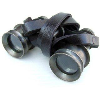 アンティーク ブラス双眼鏡&レザーストラップ