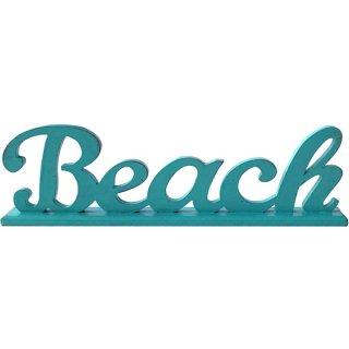 ハワイアン ミニメッセージスタンド ビーチロゴ BEACH LOGO GR