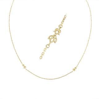 [オーキッド] 18K YG ダイヤモンドネックレス