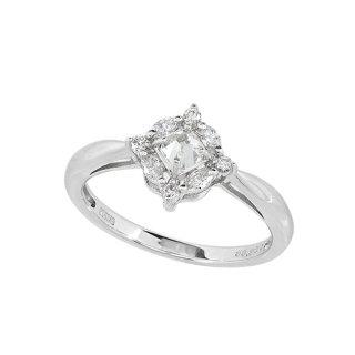 カルデアの伝説 18K WG ダイヤモンドリング