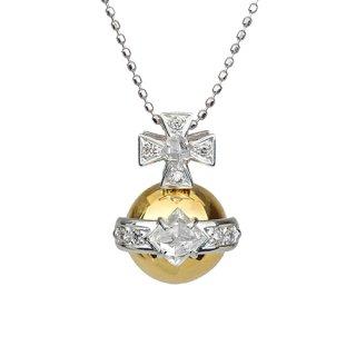 宝珠 18K 2トーン ラフダイヤモンド ペンダントヘッド